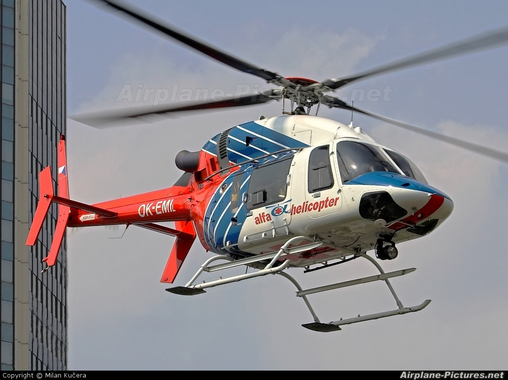 Alfa Helicopter OK-EMI aircraft at Off Airport - Czech Republic