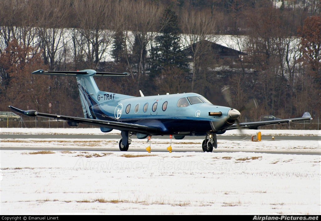 Private G-TRAT aircraft at Innsbruck