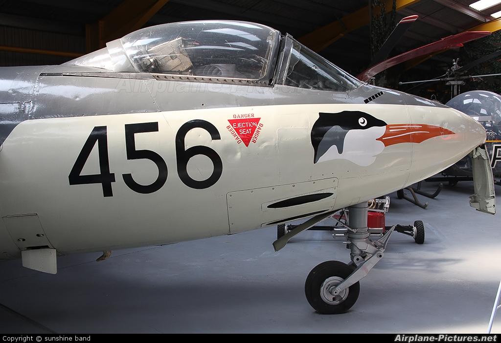 Royal Navy WM913 aircraft at Newark Air Museum