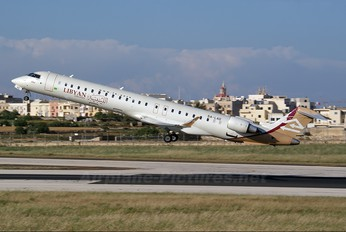 5A-LAD - Libyan Airlines Canadair CL-600 CRJ-900