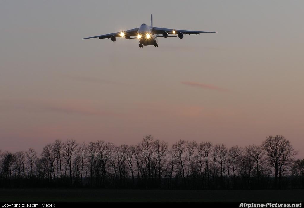Antonov Airlines /  Design Bureau RA-82027 aircraft at Prague - Václav Havel