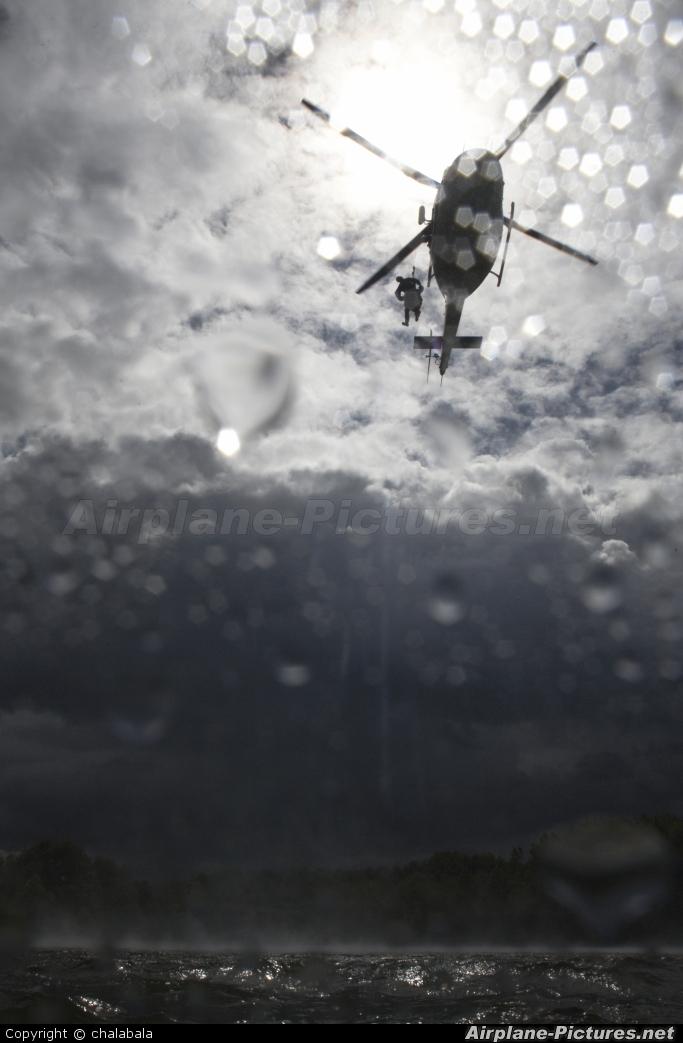 Czech Republic - Police OK-BYP aircraft at Off Airport - Czech Republic