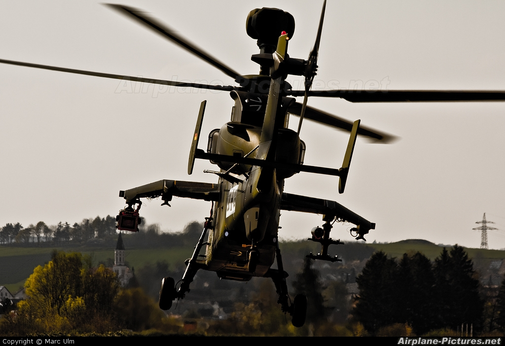 Germany - Army 98+19 aircraft at Donauwörth - Eurocopter Heliport