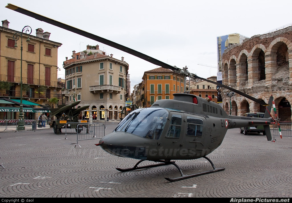 Italy - Army MM80566 aircraft at Off Airport - Italy