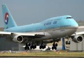 HL7489 - Korean Air Boeing 747-400 aircraft
