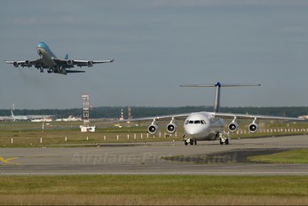 D-AEWO - Eurowings British Aerospace BAe 146-300/Avro RJ100
