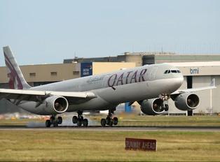 A7-AGC - Qatar Airways Airbus A340-600