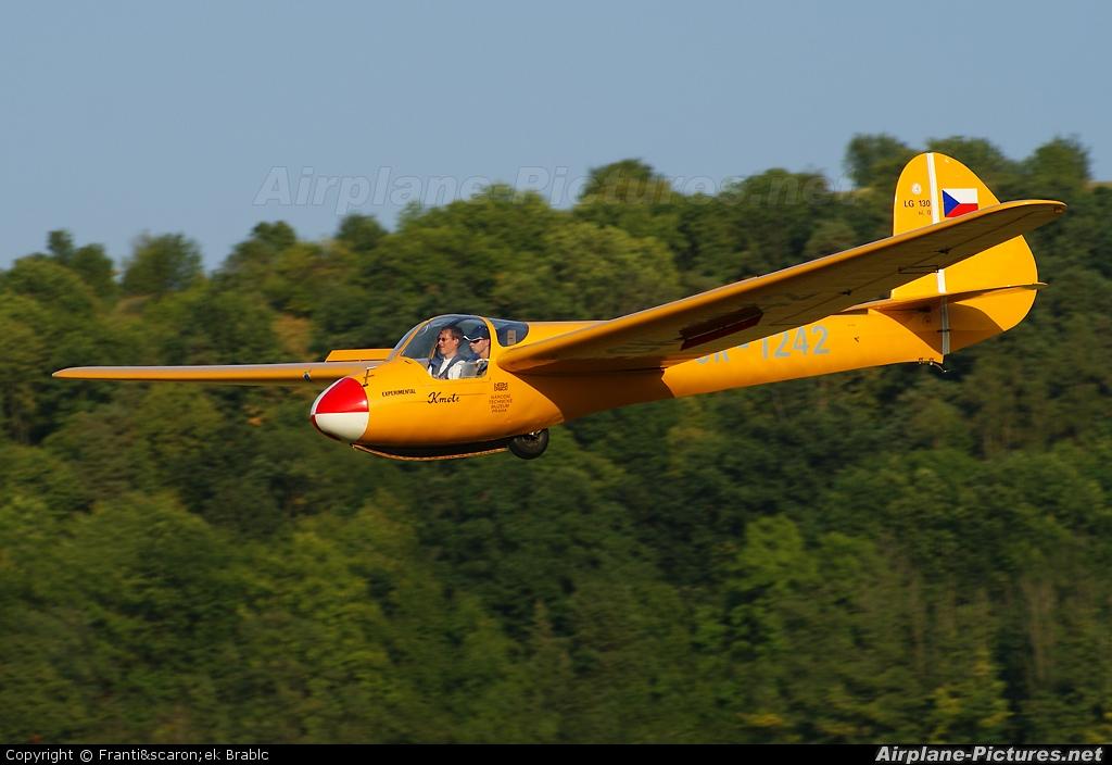 Aeroklub Brno Medlánky OK-1242 aircraft at Medlánky