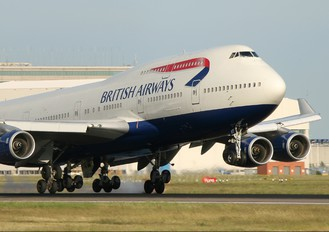 G-CIVT - British Airways Boeing 747-400