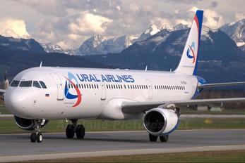 VQ-BDA - Ural Airlines Airbus A321