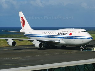 B-2447 - Air China Boeing 747-400