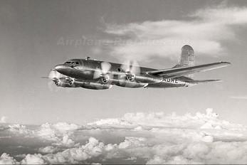 G-AGRE - British South American AIirways Avro 689 Tudor 4