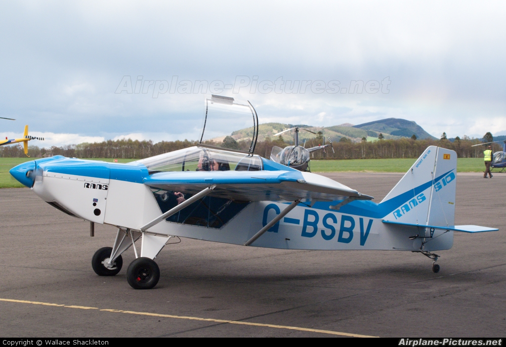 Private G-BSBV aircraft at Perth - Scone