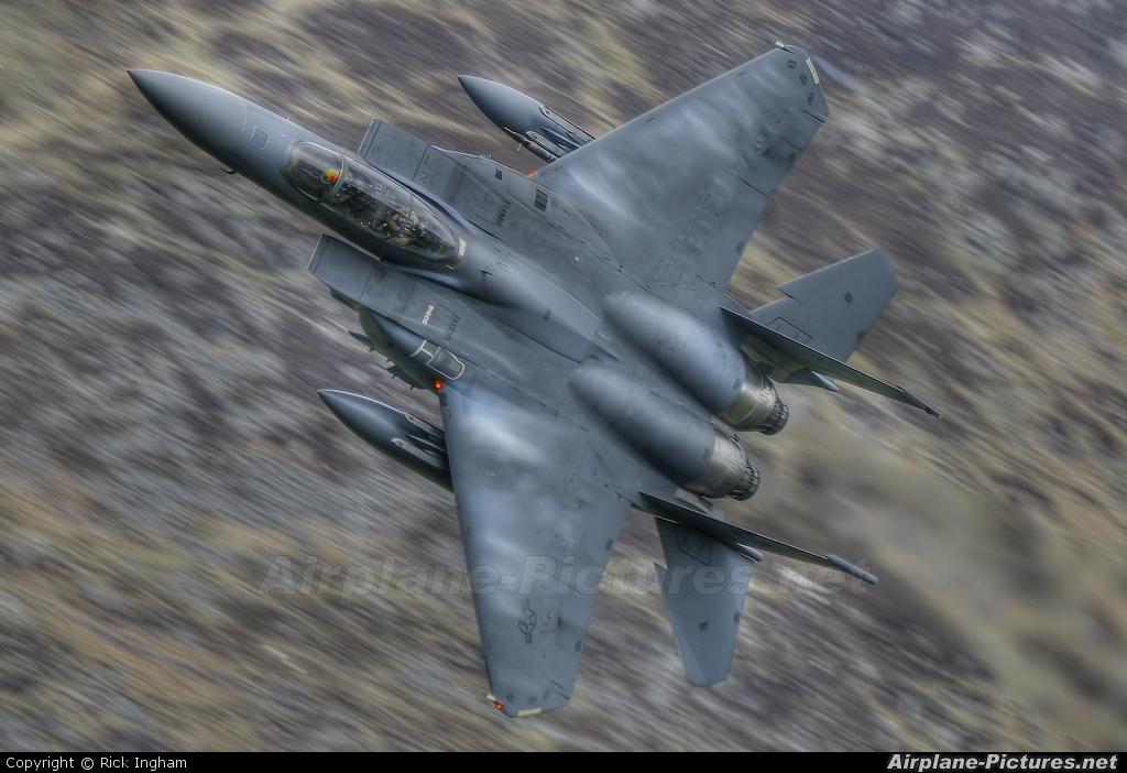 USA - Air Force 91-0605 aircraft at Off Airport - Wales