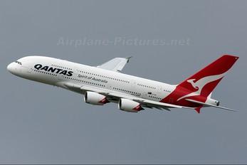 VH-OQE - QANTAS Airbus A380