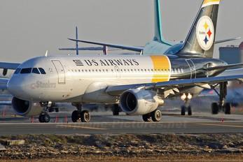 N733UW - US Airways Airbus A319