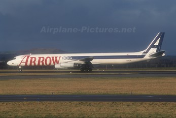 N345JW - Arrow Air Douglas DC-8-63F