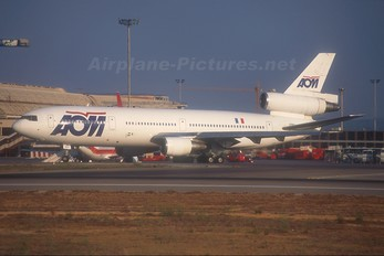 F-ODLY - AOM McDonnell Douglas DC-10