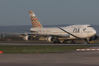 AP-BGG - PIA - Pakistan International Airlines Boeing 747-300