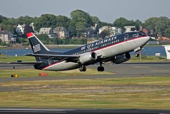 N504AU - US Airways Boeing 737-300