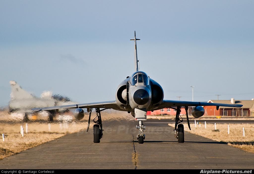 Argentina - Air Force I-006 aircraft at Río Gallegos, Piloto Civil Norberto Fernández