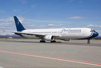 EI-CZH - Blue Panorama Airlines Boeing 767-300ER