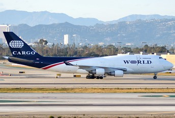 N740WA - World Airways Boeing 747-400BCF, SF, BDSF