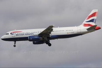 G-EUUC - British Airways Airbus A320