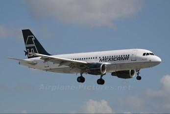 N634MX - Mexicana Airbus A319