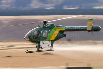 ZK-HDW - Central South Island Helicopters MD Helicopters MD-500N