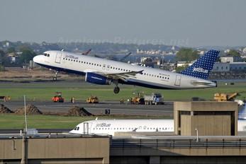 N505JB - JetBlue Airways Airbus A320