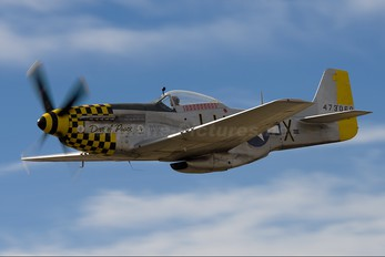 ZK-SAS - Private North American P-51D Mustang