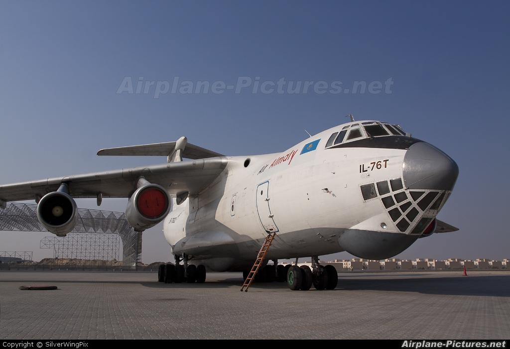 Air Almaty UP-I7602 aircraft at Sharjah Intl
