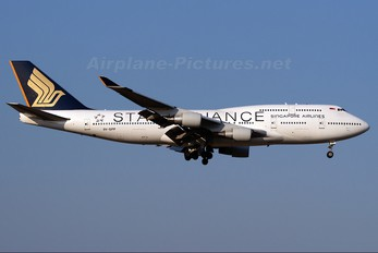 9V-SPP - Singapore Airlines Boeing 747-400