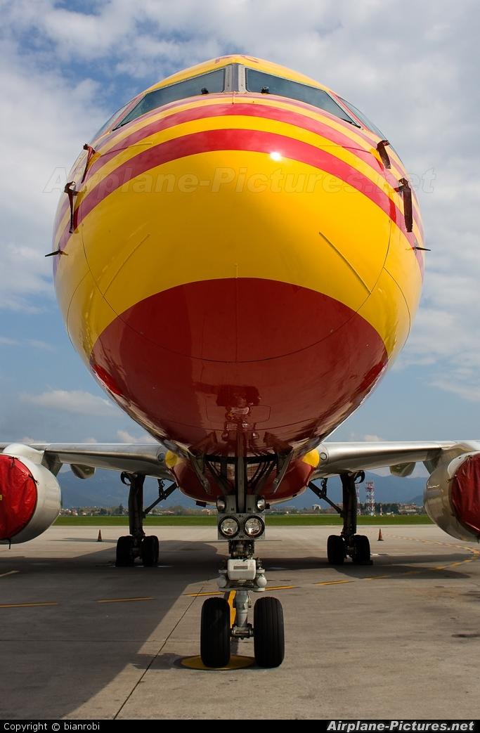 DHL Cargo G-BIKC aircraft at Bergamo - Orio al Serio