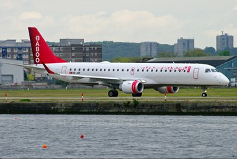 HB-JQF - Flybaboo Embraer ERJ-190 (190-100)