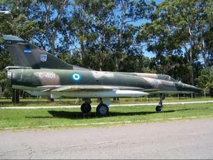 C-401 - Argentina - Air Force Dassault Mirage III