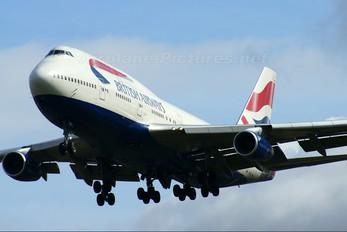 G-CIVY - British Airways Boeing 747-400