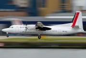 OO-VLL - CityJet Fokker 50 aircraft