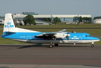 PH-KVF - KLM Cityhopper Fokker 50