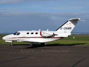 G-OAMB - Private Cessna 510 Citation Mustang