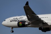 5A-ONF - Afriqiyah Airways Airbus A330-200 aircraft