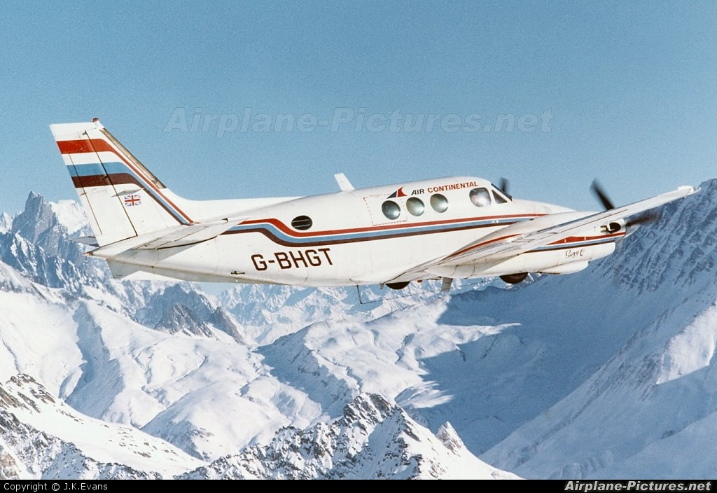 Air Continental G-BHGT aircraft at In Flight - Switzerland