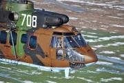708 - Bulgaria - Air Force Aerospatiale AS532 Cougar aircraft