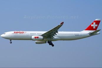 HB-JHF - Swiss Airbus A330-300
