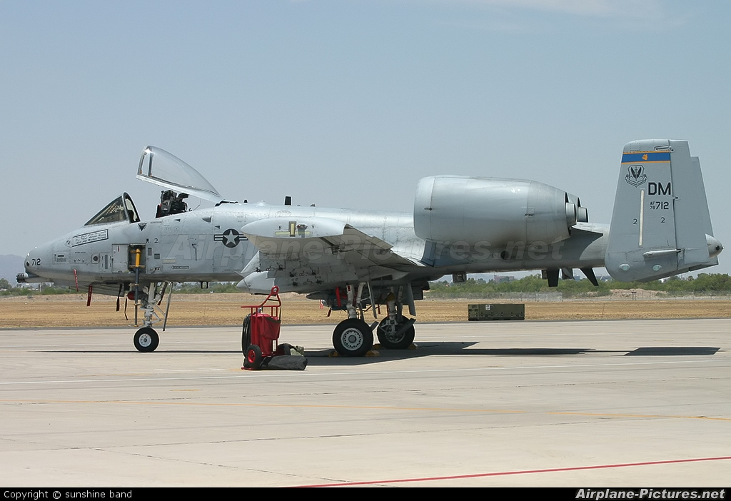 USA - Air Force 78-0712 aircraft at Davis-Monthan AFB