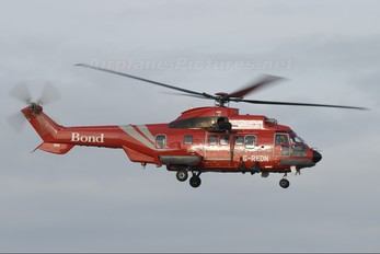 G-REDN - Bond Offshore Helicopters Aerospatiale AS332 Super Puma