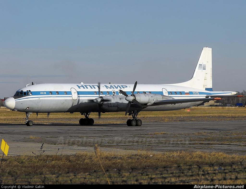 NPP Mir RA-75713 aircraft at Khabarovsk Novy
