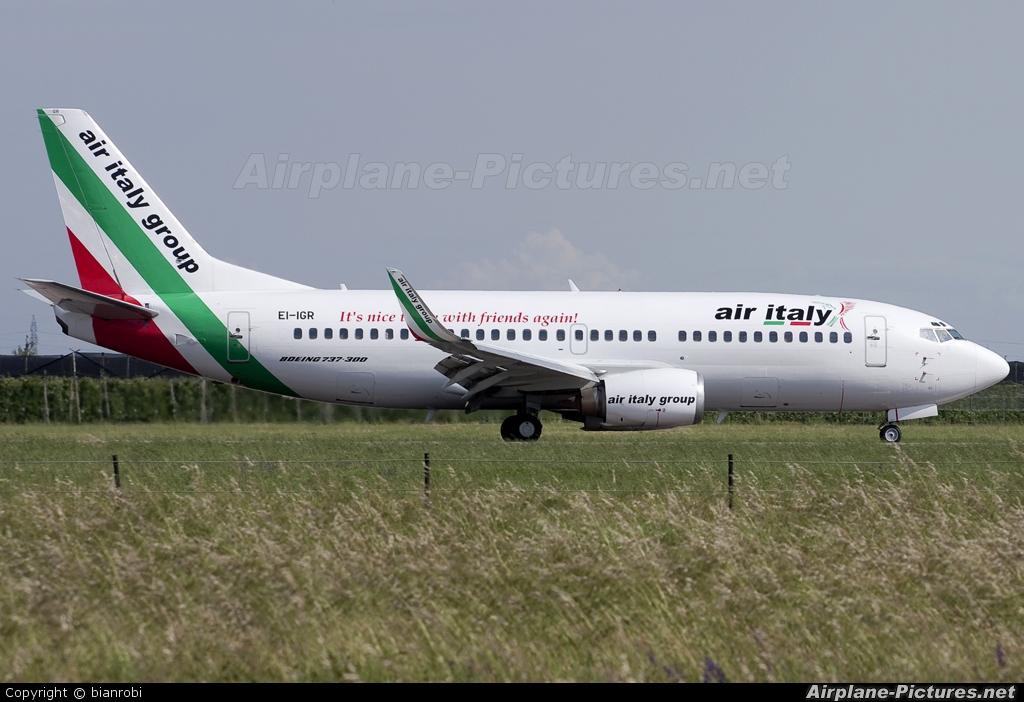Air Italy EI-IGR aircraft at Verona - Villafranca