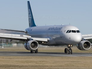ZK-OJD - Air New Zealand Airbus A320